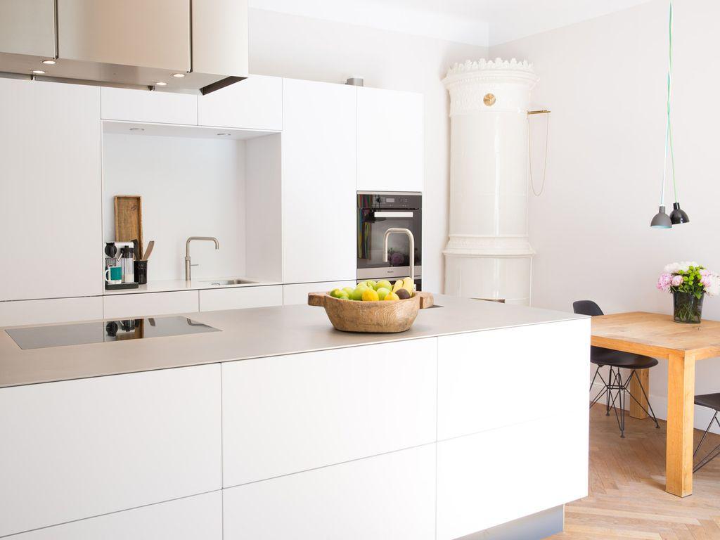 Neue Küche.Altes Esszimmer.