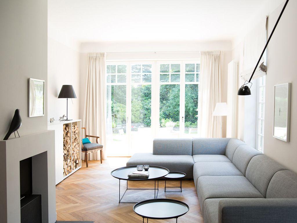 Neues Wohnzimmer.Altes Herren- und Kaminzimmer.