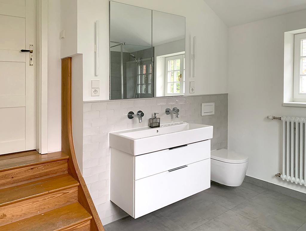 Neues En-Suite Badezimmer.