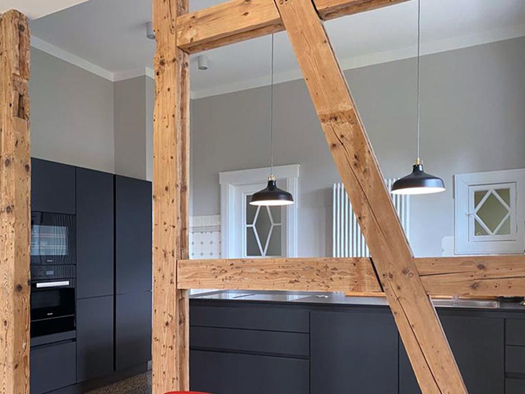 Erweiterung der neuen Küche.
